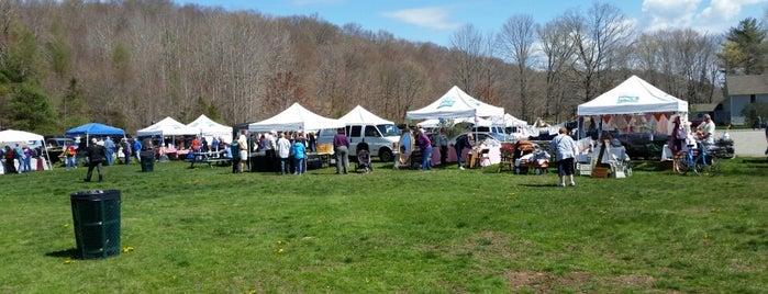 Bozrah Farmers Market is one of CT Falcon Farm area+.