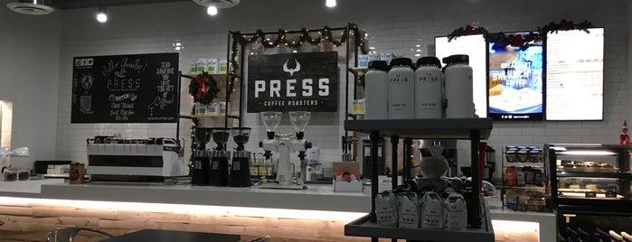 Press Coffee is one of Locais curtidos por Justin Eats.
