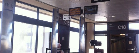 Gate C16 is one of Travel - trains & planes!.