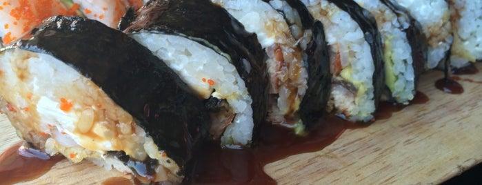 Sake Sushi Bar is one of Locais curtidos por Claudia María.