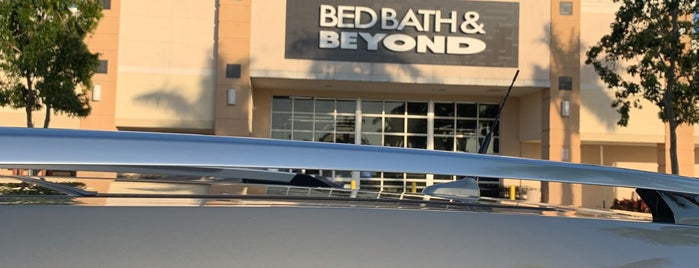 Bed Bath & Beyond is one of 'round home.