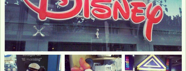 Disney Store is one of UK to-do list.
