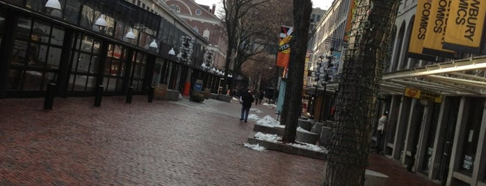 Faneuil Hall Marketplace is one of They Came to Boston.