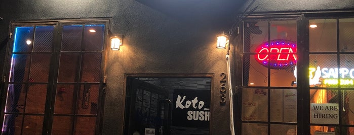 Koto Sushi is one of Lieux qui ont plu à Danyel.