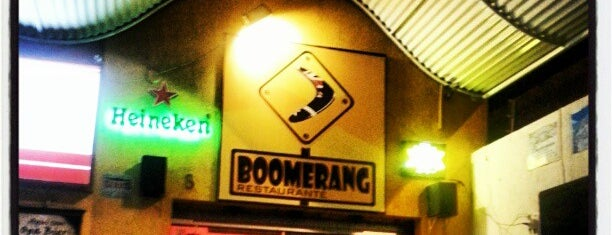 Boomerang is one of Bar.