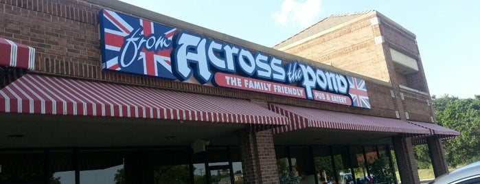 From Across The Pond is one of Mid-Cities Restaurants.