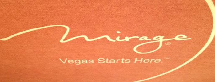 The Mirage Poker Room is one of Vegas.