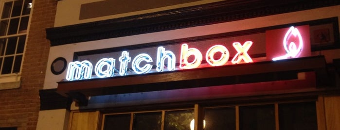 Matchbox Vintage Pizza Bistro is one of crash course: dc.