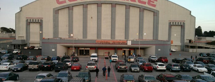 Cow Palace is one of sports arenas and stadiums.
