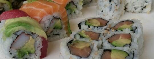 U-Yee Sushi is one of Lugares favoritos de Faith.