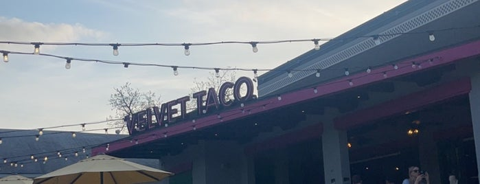 Velvet Taco is one of Comida mexicana en Dallas.