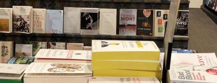 Waterstones is one of Uk places.