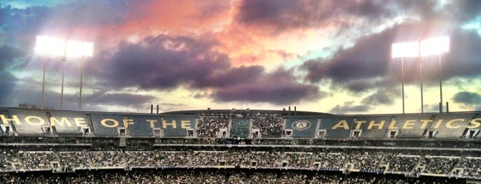 Oakland-Alameda County Coliseum is one of MLB Stadiums.