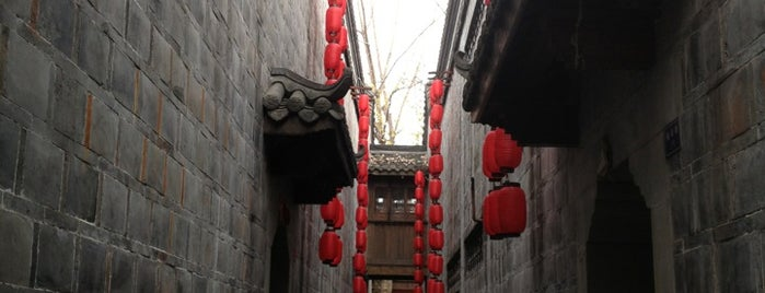Jinli Street is one of 성도.