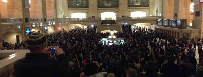 Grand Central Terminal is one of Posti che sono piaciuti a Mark.