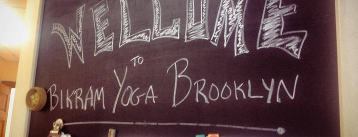 Bikram Yoga Brooklyn Heights is one of Vero's BIG apple.