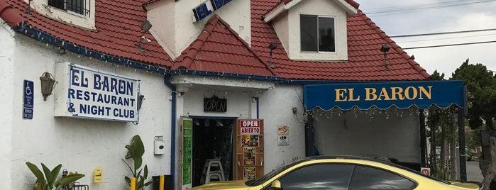 El Baron is one of LA Eats TD.