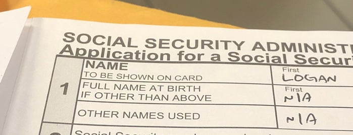 Social Security Administration is one of Misc 2.