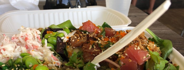 Poke Rainbow is one of Places To Try.