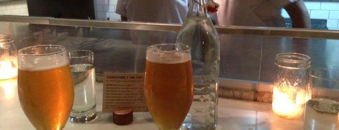 The Vanderbilt is one of NYC Good Beer Passport 2014.