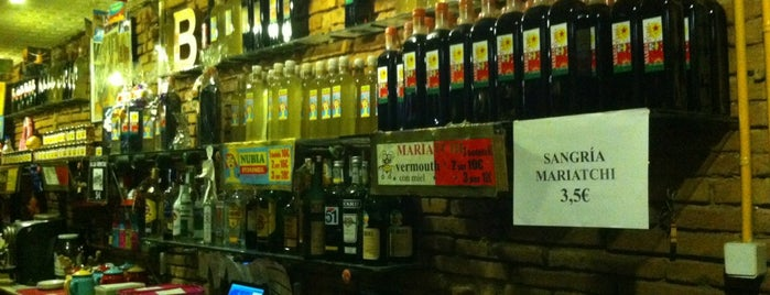 Bar Mariatchi is one of Barcelona.