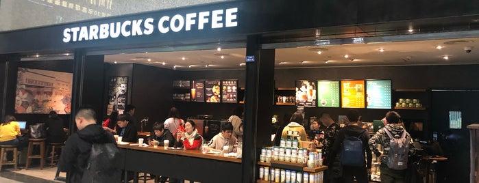 Starbucks is one of สถานที่ที่ Rafa ถูกใจ.