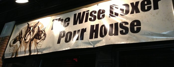 The Wise Boxer Pour House is one of Locais curtidos por Nicole.