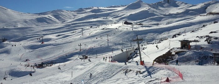 Valle Nevado is one of Por ai... em Santiago (Chile).