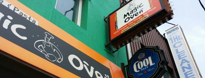 Magic Oven is one of Lieux sauvegardés par Omar.
