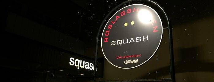 Roslagshallen Squash is one of Squash.