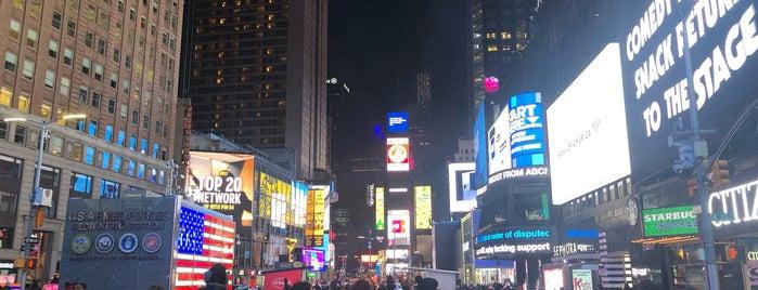 Times Square is one of Locais curtidos por Rafael.