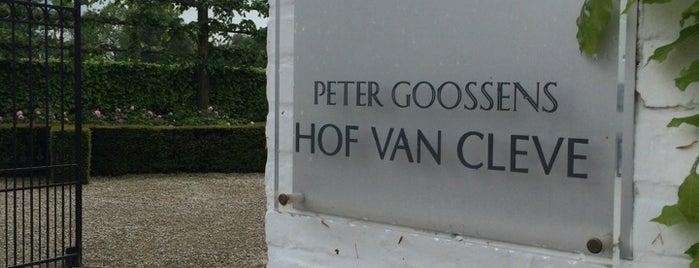Hof van Cleve is one of Pour un weekend étoilé.