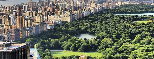 Central Park is one of Mark's Manhattan.