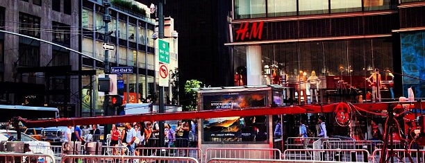 H&M is one of NY.