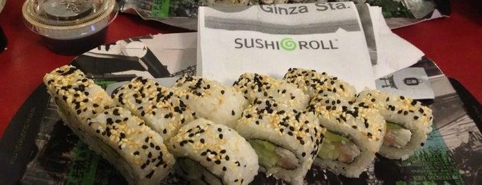 Sushi Roll is one of Locais salvos de Adr.