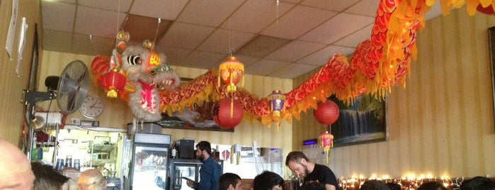 Mission Chinese Food is one of City diners.