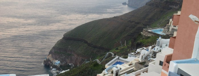 Santorini Caldera is one of Beautiful Views.