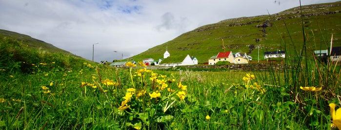 Húsavík is one of Faroe Island.