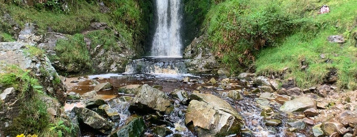 Glenevin Waterfall is one of (Northern) Ireland.