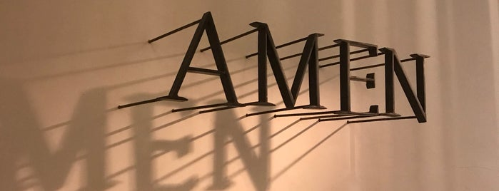 AMEN restaurant is one of Brussels.
