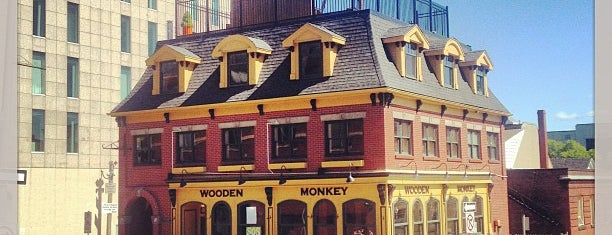 The Wooden Monkey is one of Halifax.