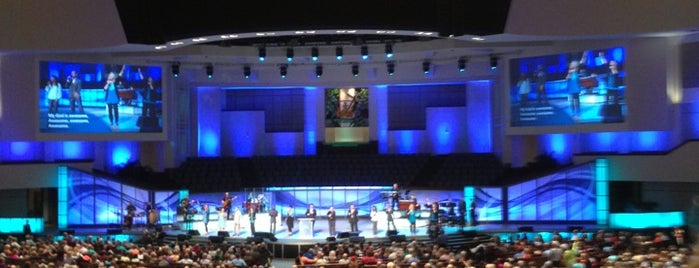 Prestonwood Baptist Church is one of Heather's Liked Places.