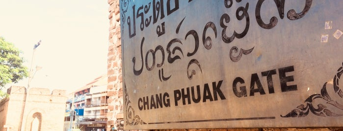 Chang Phueak Gate is one of Trips / Thailand.