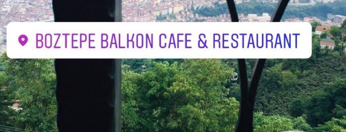 Balkon Cafe&Restaurant is one of Tempat yang Disukai Çağatay.