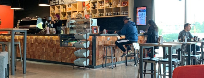 Public Works Coffee Bar is one of Lugares favoritos de Jeremy.
