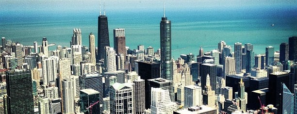 Skydeck Chicago is one of Bucket List ☺.