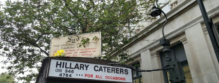 Calvert Avenue is one of London.