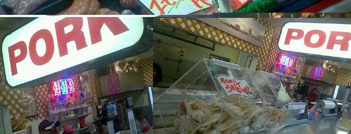 RJs Meat Shoppe is one of สถานที่ที่ Emeka ถูกใจ.