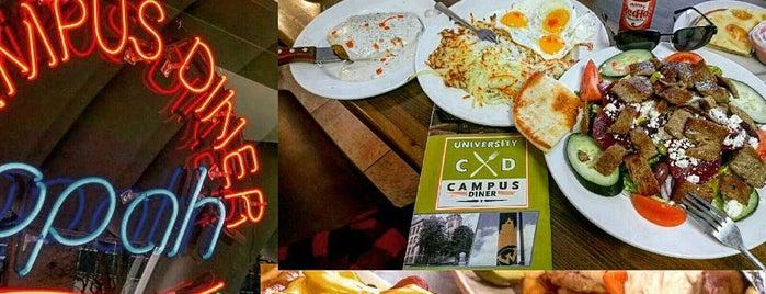 Campus Diner is one of Orte, die Georg gefallen.