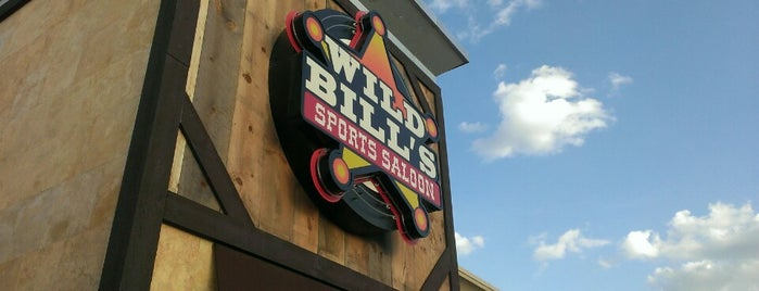 Wild Bills Sports Saloon is one of Lieux sauvegardés par Jenny.